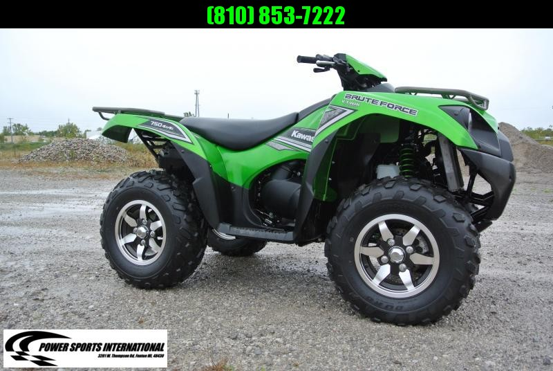 2016 KAWASAKI KVF750JGF BRUTEFORCE (4X4 CANDY LIME GREEN)