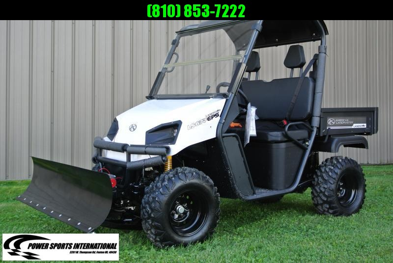 2018 American Land Master LS677 EFI EPS WHITE Utility Side-by-Side #0215