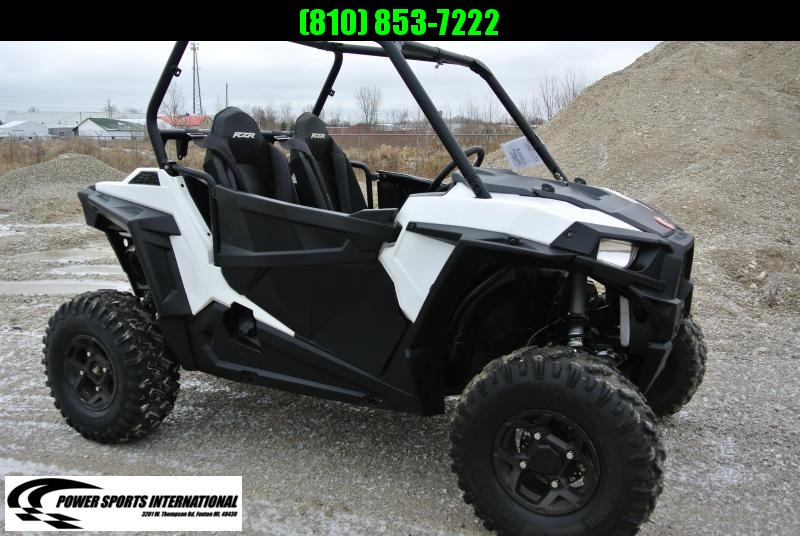 2017 POLARIS RZR S 900 EPS WHITE LIGHTNING #4622