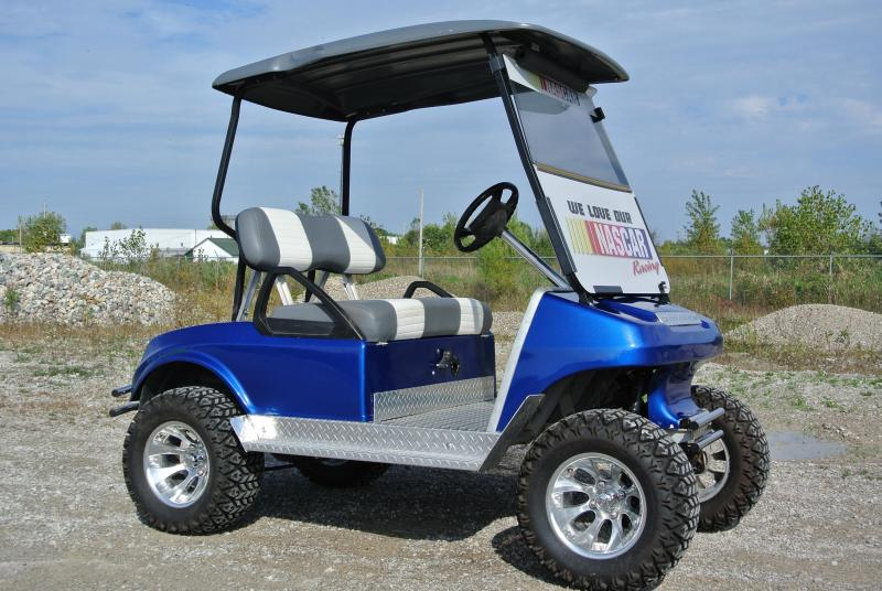1992 Club Car Custom Lifted 36V Electric Golf Cart