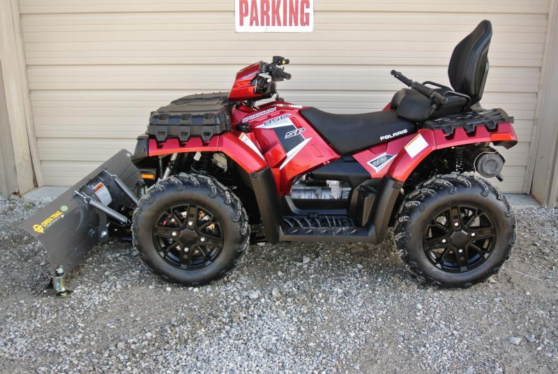 2017 POLARIS SPORTSMAN TOURING 850 SP EPS ATV 4X4 With Plow #0418