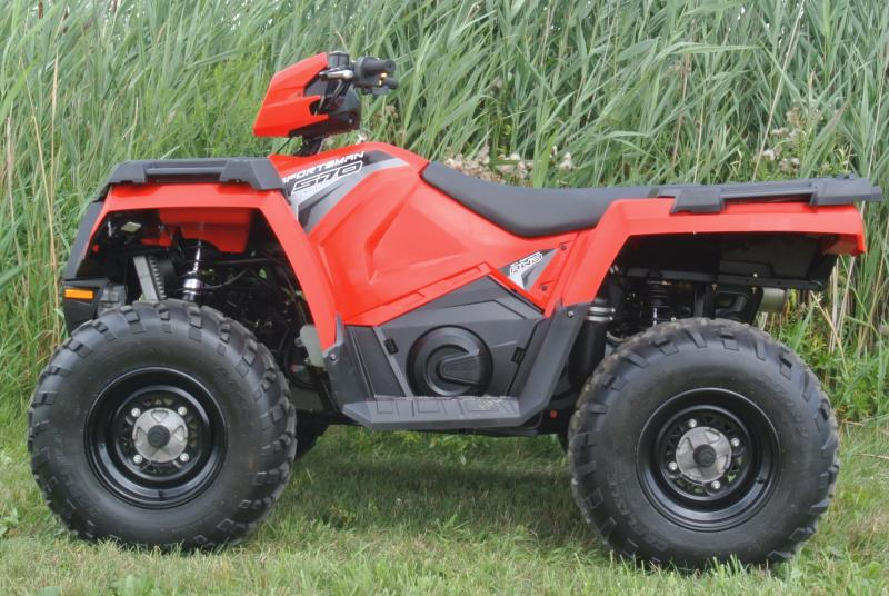 2018 POLARIS SPORTSMAN 570 (ELECTRIC FUEL INJECTION) 4X4 ATV RED #6620