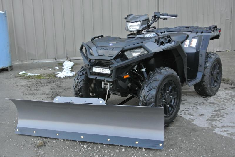 2017 POLARIS SPORTSMAN 850 SP SILVER METALLIC #6704