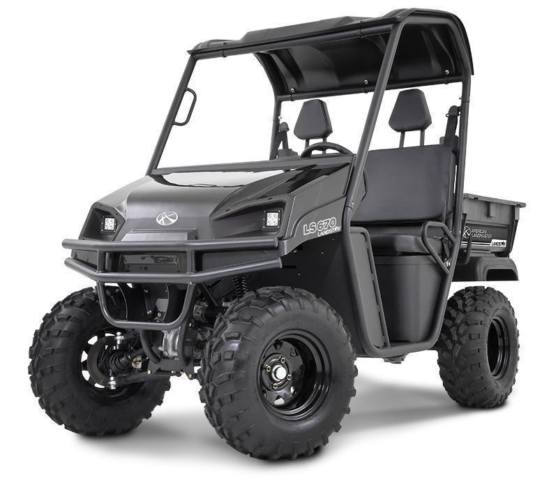 2018 American Land Master LS550 EPS Black Utility Side-by-Side (UTV)