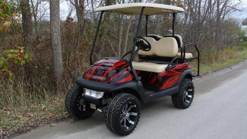 2011 Club Car Precedent Gas Golf Cart #6283