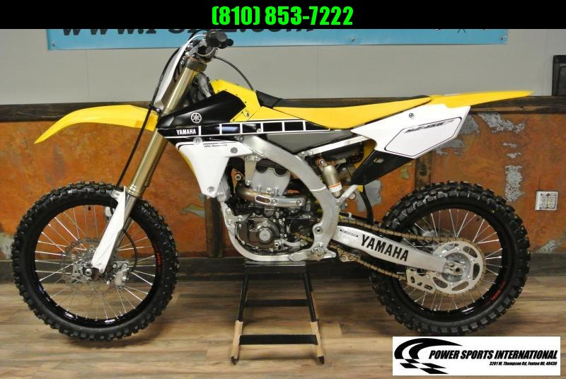 2016 Yamaha YZ450F 60th Anniversary Motorcycle MX #4985