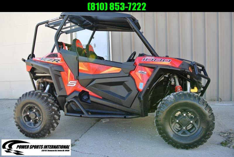 2017 POLARIS RZR S 1000 EPS ORANGE CRUSH #3897