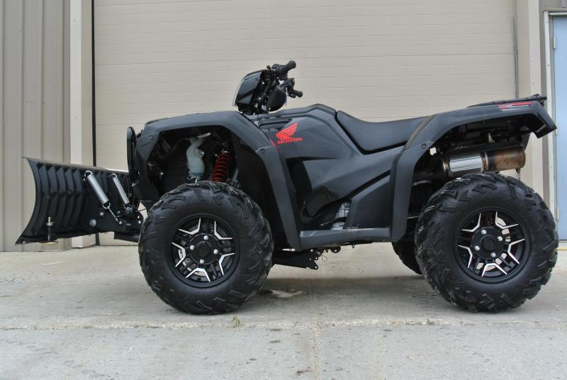 2016 HONDA TRX500FA6G FOURTRAX FOREMAN RUBICON 4X4 ELECTRIC POWER STEERING w/ Plow #1238