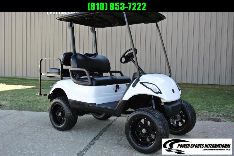 2015 Custom Yamaha Drive Lifted Gas Golf Cart Stock #0719