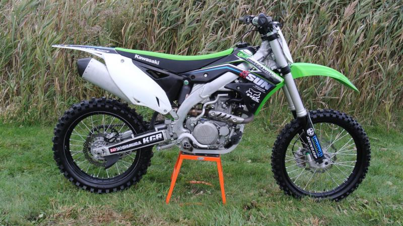 2015 Kawasaki KX450F Motorcycle MX Dirt bIke #2541