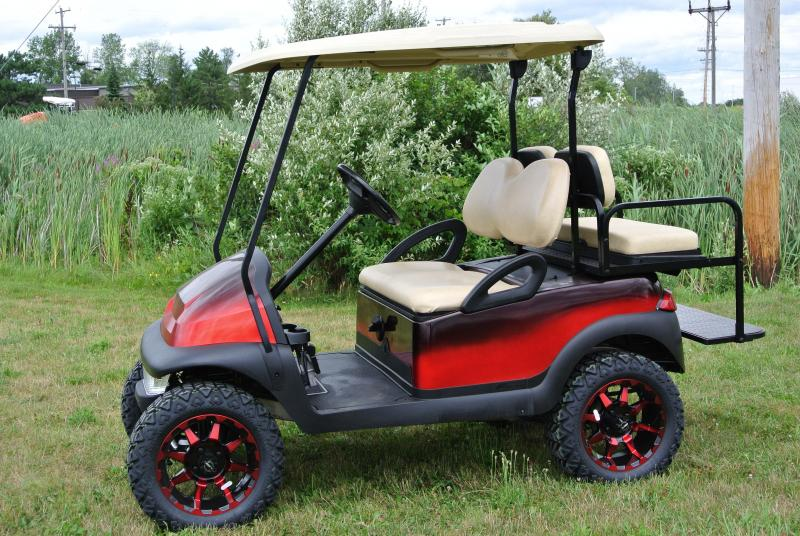 2006 Custom Club Car Precedent Lifted Gas Golf Cart #2155