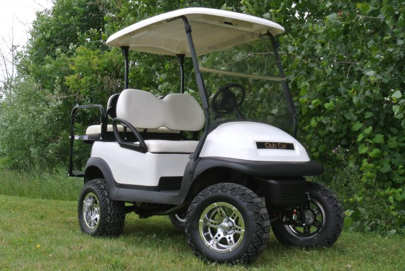 2013 Club Car Precedent Custom Lifted Gas Golf Cart #1587
