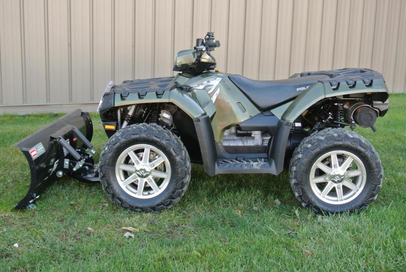 2010 Polaris Sportsman 850 XP EPS ATV With Winch/Plow #5799