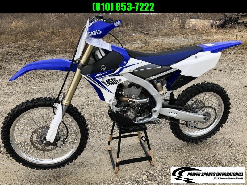 2014 Yamaha YZ450F Motorcycle MX Motocross Team Edition #5010