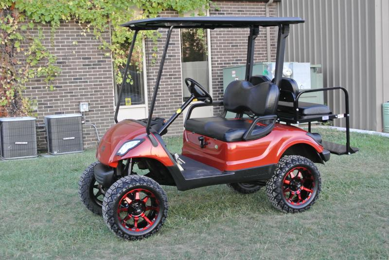 2014 Yamaha DRIVE Gas golf cart. #2348