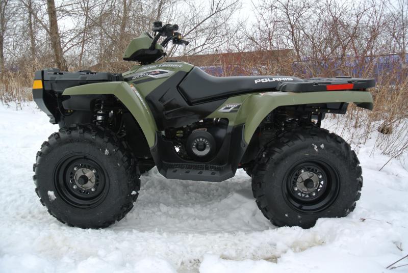 2006 Polaris Sportsman 500 4X4 ATV HUNTER GREEN EDITION #2006
