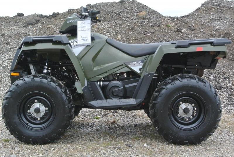 2016 POLARIS SPORTSMAN 570 EFI 4X4 ATV w/ WINCH #4474