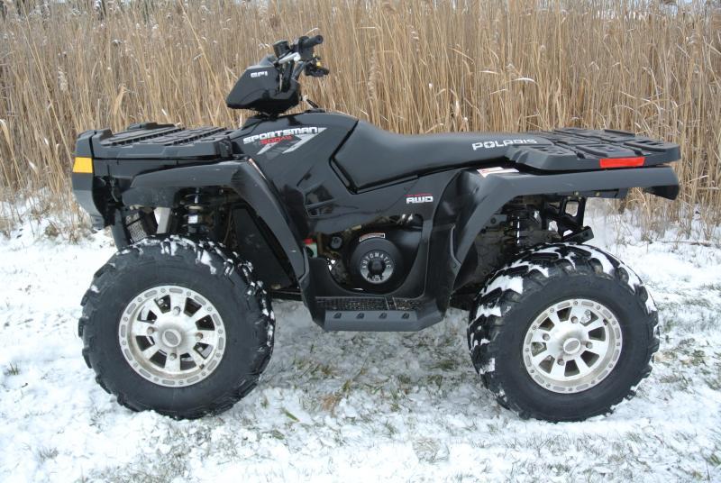 2008 POLARIS SPORTSMAN 500HO EFI 4X4 ATV #6233