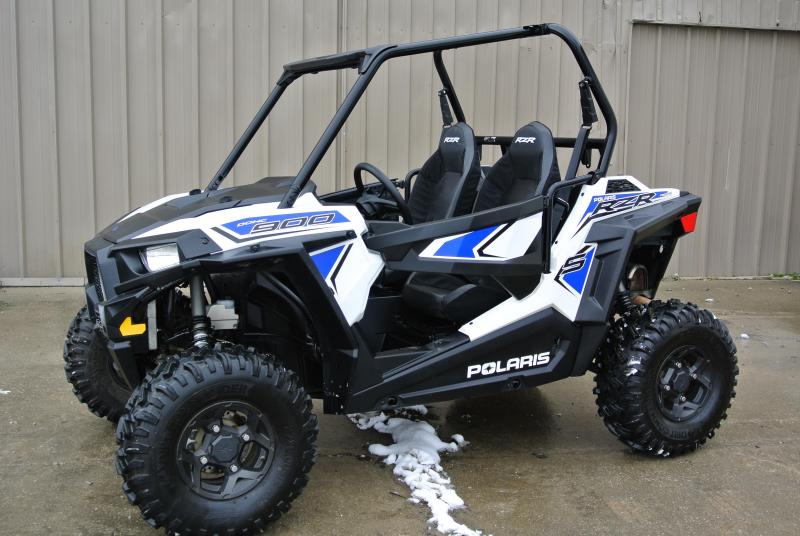2018 POLARIS RZR S 900 EPS White Lightning Sport Side-by-Side #7800