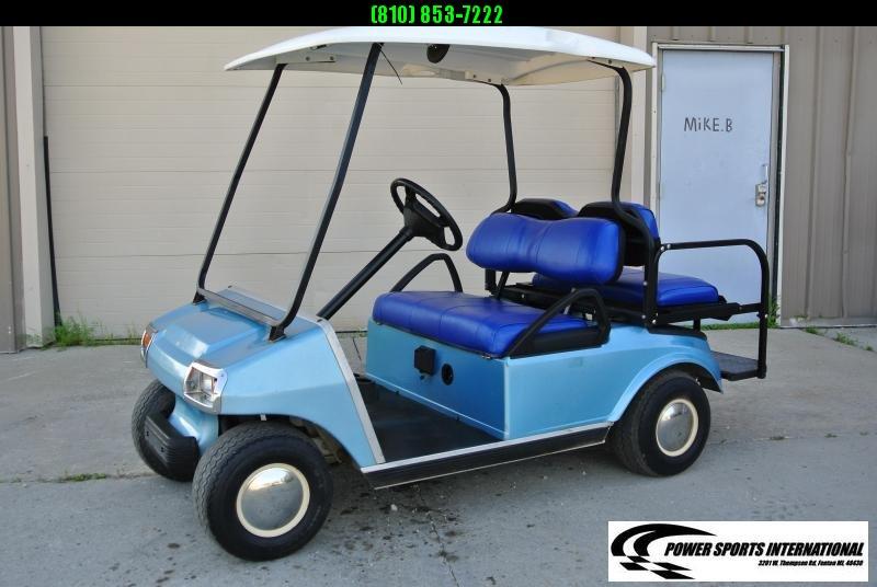 2003 CLUB CAR DS 48V CUSTOM GOLF CART #4823