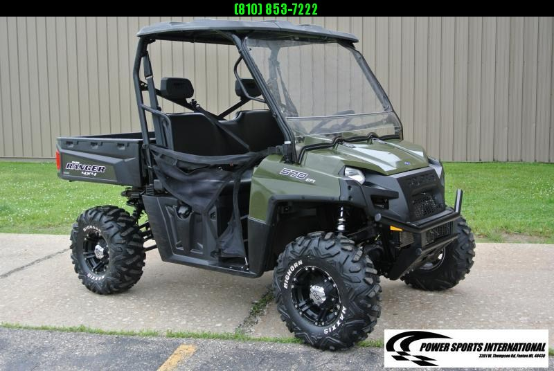 2018 POLARIS RANGER 570 FULL-SIZE UTV SIDE BY SIDE #2421