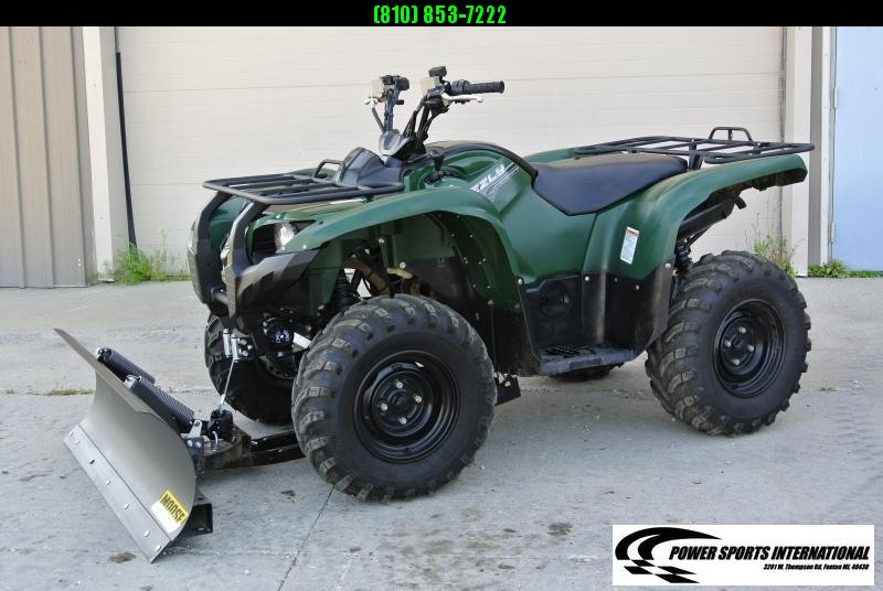 2014 YAMAHA YFM550DEG GRIZZLY (GREEN) 4X4 ATV #3968