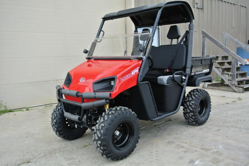 2018 American Land Master LS550 EFI EPS Red Utility Side-by-Side (UTV) #0278