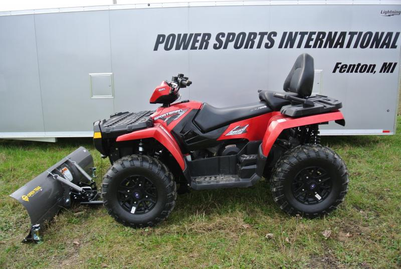 2009 Polaris Sportsman 800 Touring ATV with Plow & Winch #4677