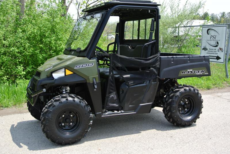 2017 POLARIS RANGER 500 HUNTER GREEN SIDE BY SIDE #9596