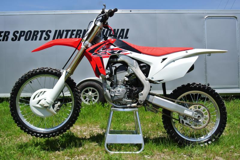 2017 HONDA CRF250RF w/ Factory F4.1 Exhaust #0358