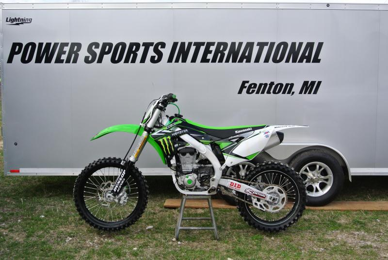 2015 Kawasaki KX450F Motorcycle MX Dirt Bike #6033