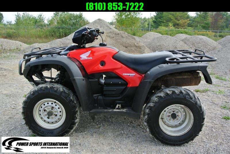 2007 Honda TRX 500 ES ATV #2718