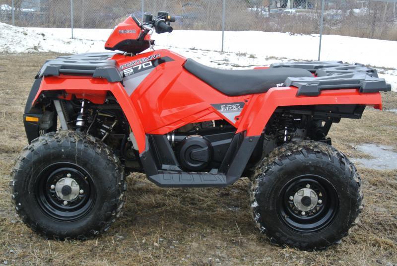 2016 Polaris Sportsman 570 EFI ATV Fire Engine Red #6240