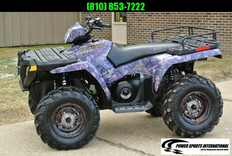2005 POLARIS SPORTSMAN 500 HO 4X4 ATV #3216