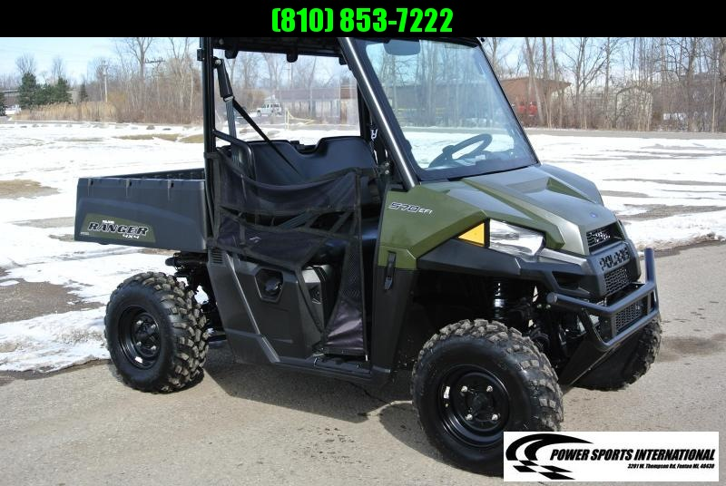 2018 Polaris Ranger 570 MID SIZE 4X4 Utility Side-by-Side (UTV) HUNTER GREEN #6928