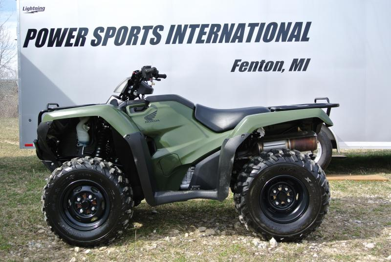 2016 HONDA TRX420FE1G FOURTRAX RANCHER (4X4 ELECTRIC SHIFT) GREEN #3559