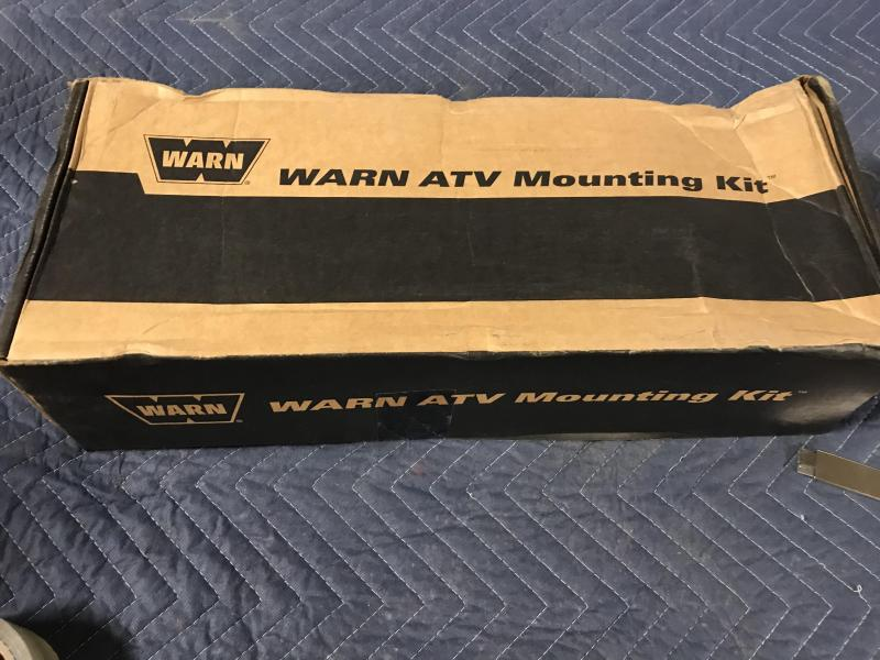 WARN ATV Front Plow Mount for Yamaha (79403) $127