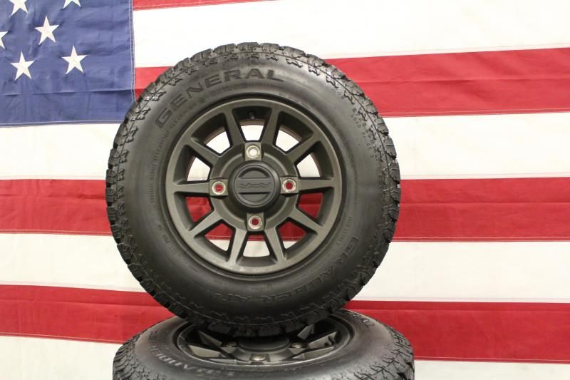 Polaris RZR wheels on General Street Legal Tires (T0036) $425/set