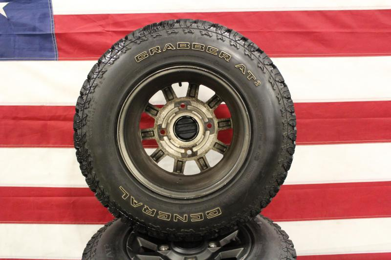 Polaris RZR wheels on General Street Legal Tires (T0036) $425/set