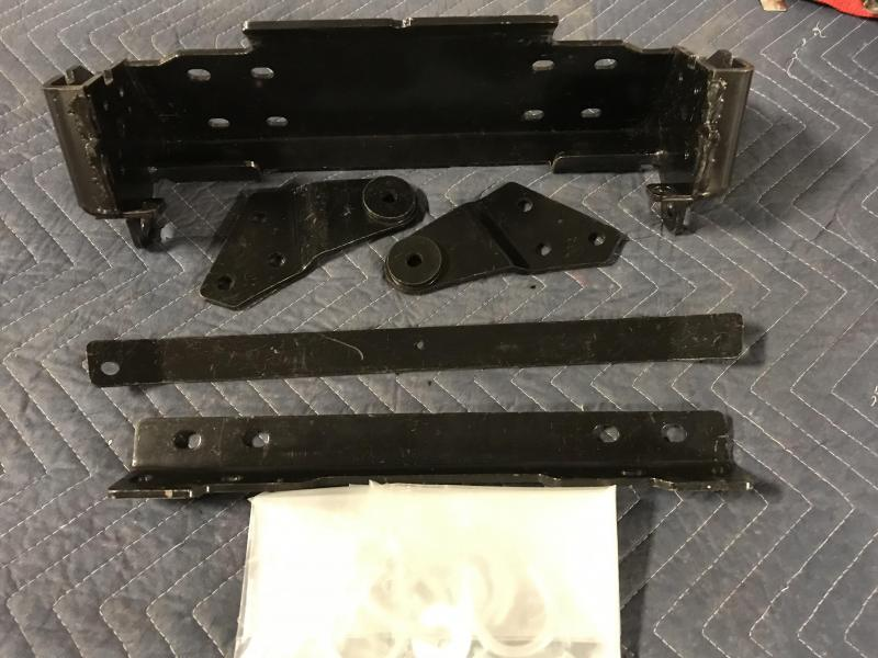 WARN UTV Front Plow Mount for Kawasaki Mule 2005-16 610 / 2008-16 600 (84090) $159