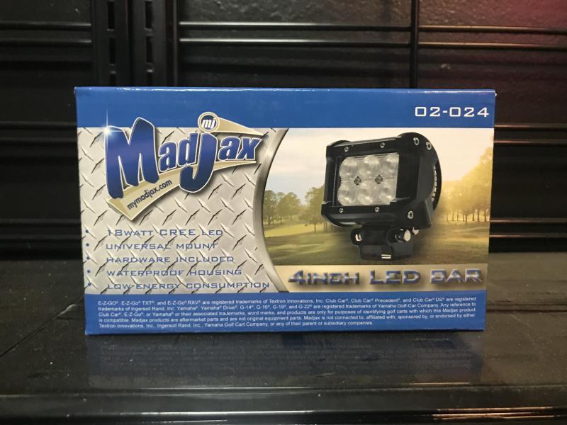 Brand New Madjax 4 in LED Light Bar (2024)