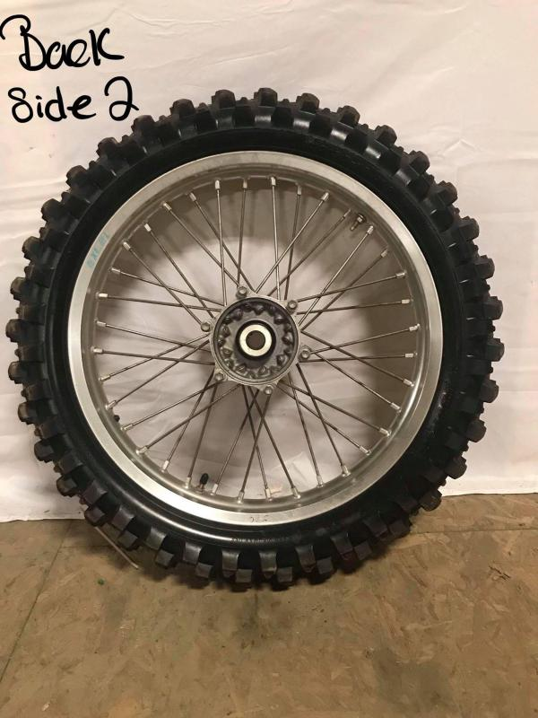 2014 YZ 250F Rear Wheel Sand Tire