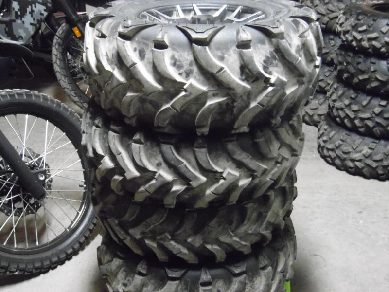 Honda Pioneer 700cc Set of 4 Used Take Off Tires with Rims