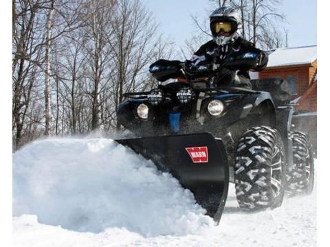 WARN ATV & UTV Snowplow and Winch System