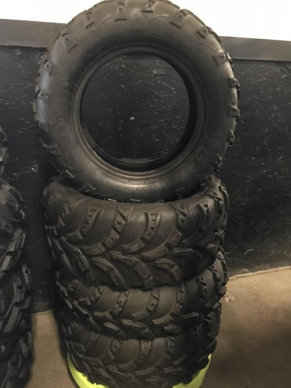 Carlisle AT489 Set of 4 used take off tires (T0005)
