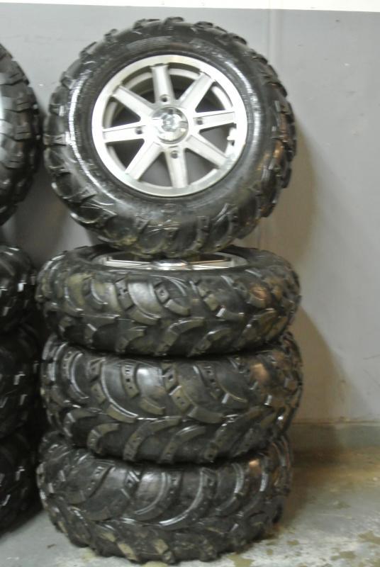 Stock Take Off Wheels and Tires Polaris XP Sportsman