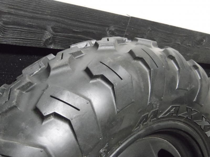 Polaris or Honda Maxxis Set of 4 used take off Tires with Rims