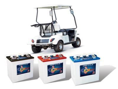 New Golf Cart Batteries for Yamaha Club Car and EZ Go