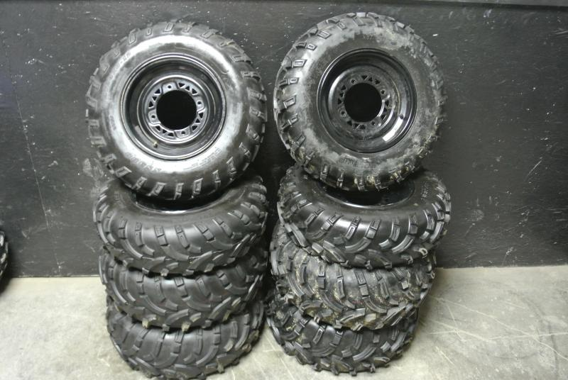 Polaris ATV OEM Take Off Wheels and Tires