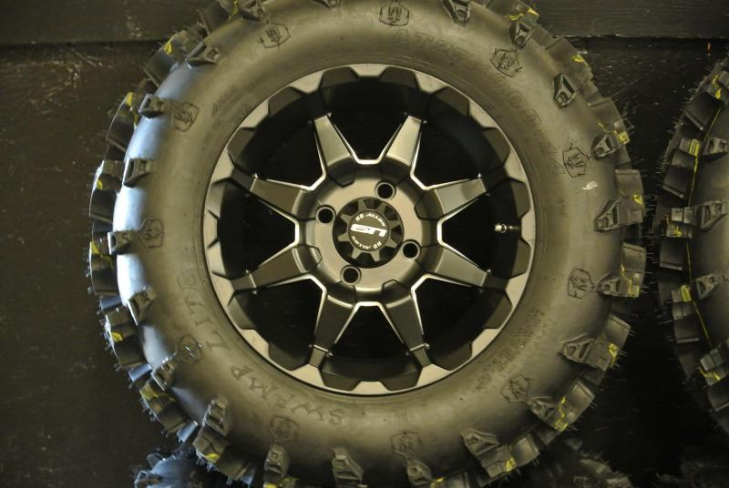 """14"""" Aftermarket Wheels and Tires"""